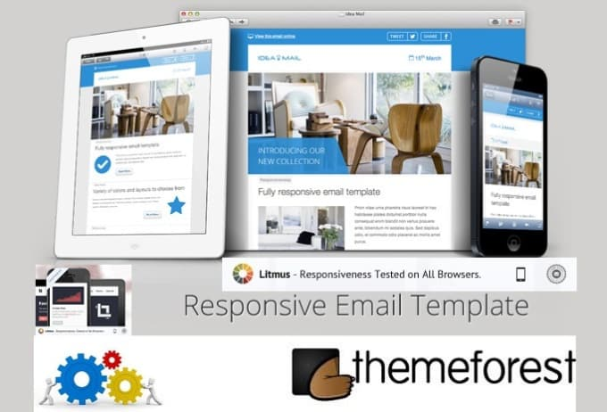 Customize your themeforest email template with your content by ...