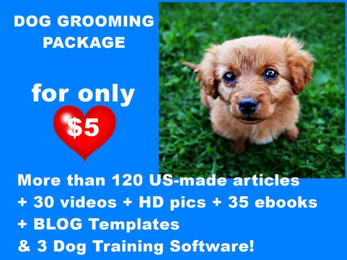Send 200 Dog Grooming Articles Ebooks Hd Pics And Videos By