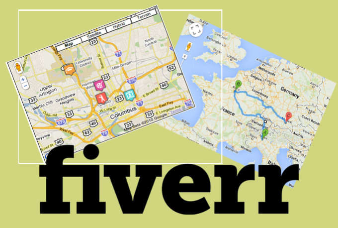 do google maps projects using javascript and PHP