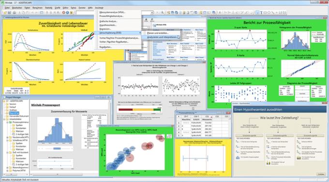 do complex statistical data analysis on excel and minitab by okanala