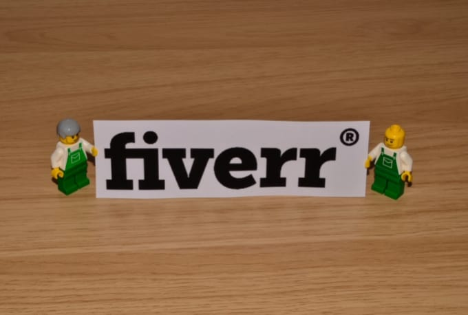 Hold Your Message Or Logo Using Lego Figures And Or Lego Props