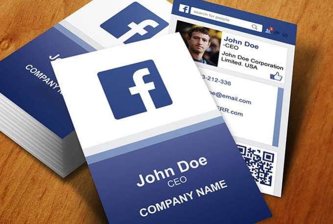 design facebook business card by ani designs