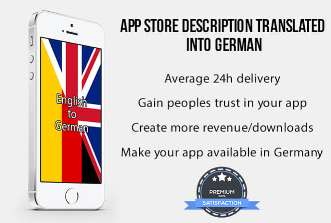 translate your app into german