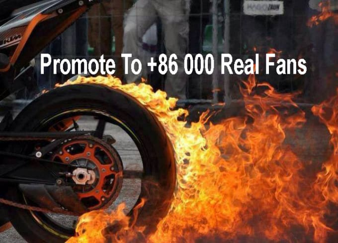promote your link to my facebook page for cars and bikes with 82000 real fans