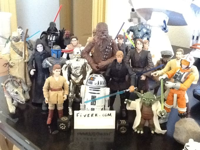 Deliver Your Message With My Star Wars Figures