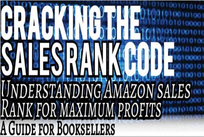 amazon book sales rank