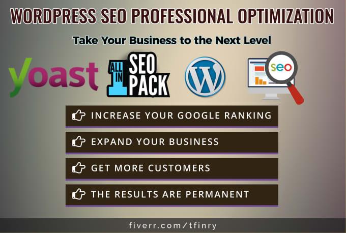 I will do wordpress SEO optimization to your site