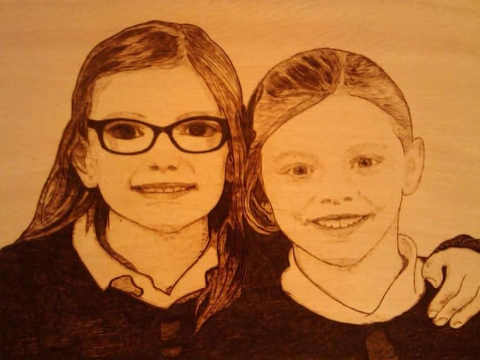 Woodburningart : I Will Draw Your Wood Burning Portraits Pyrography Art For  $275 On Www.fiverr.com