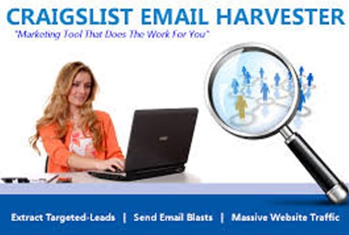 give you Craigslist Email Harvester Software