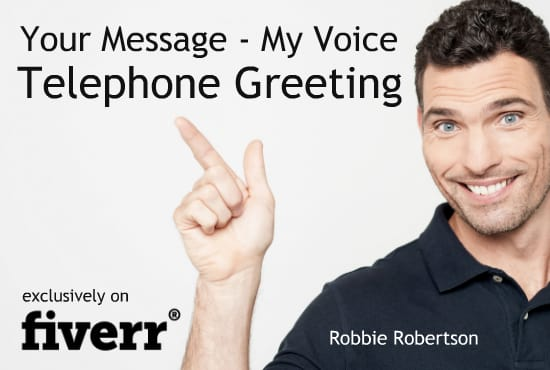 Use my american male voice for your phone greeting by voiceproforyou use my american male voice for your phone greeting m4hsunfo