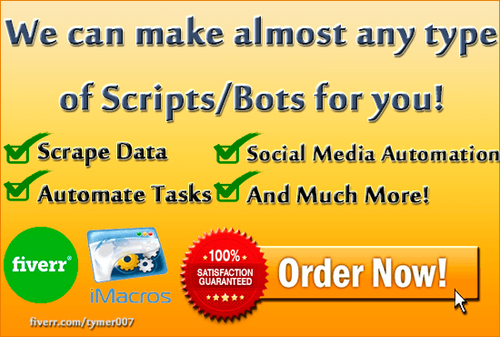write an imacros script to automate your online tasks by tymer007
