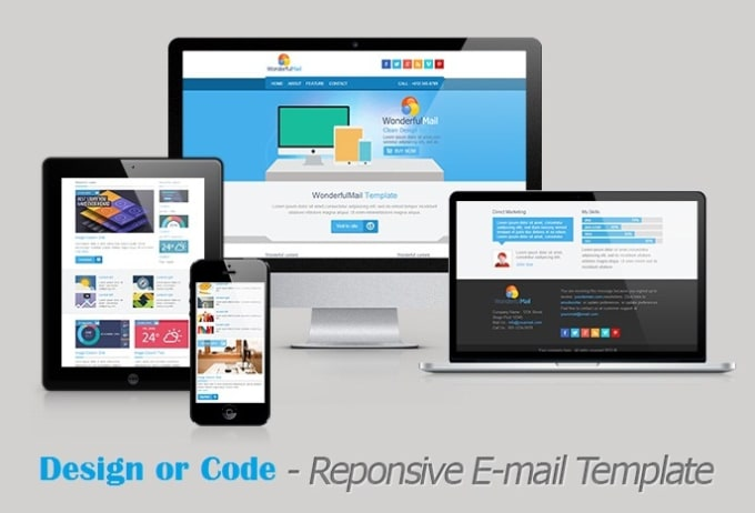Design Responsive Html Email Template By EmailTemplet