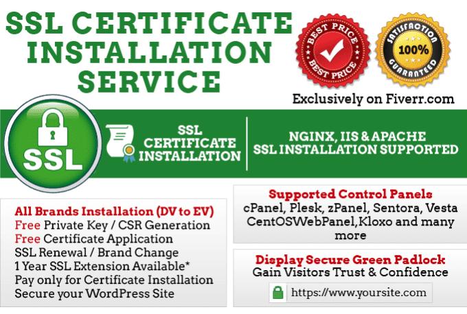 Install Ssl Https Certificate In Your Webserver By Techpig
