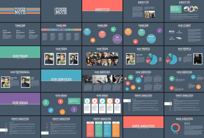 create amazing powerpoint presentation or company profile by dennygraph