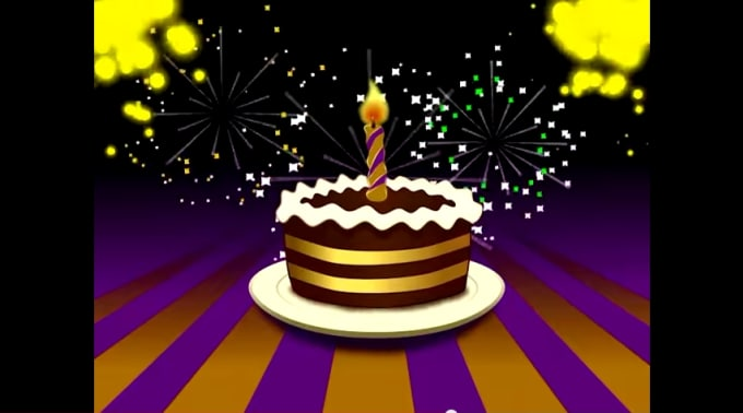 Create Animated Birthday Card