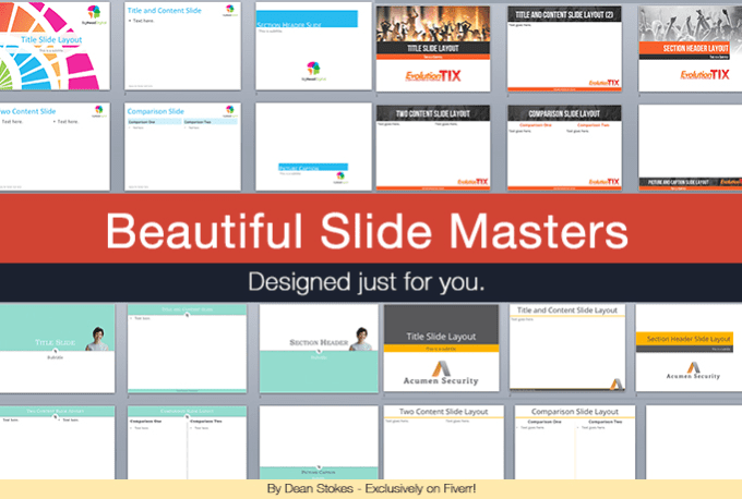 design a beautifully minimalistic powerpoint templatedeanstokes, Powerpoint templates