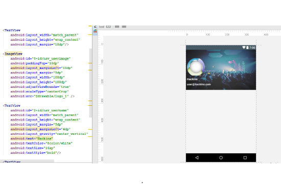 develop a custom native android application