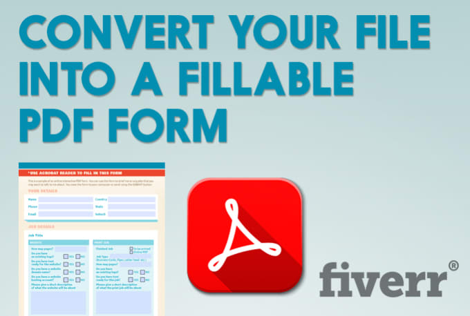 how to make a pdf form fillable