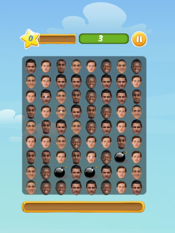 josh317 : I will make a match 3 video game with your face for $5 on  www fiverr com
