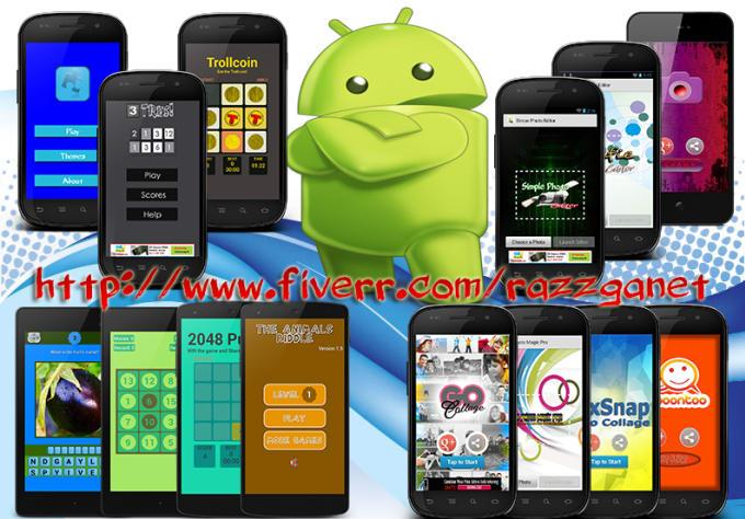 reskin simple android app or games