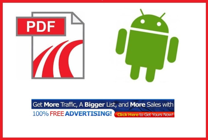 pdfandroidapps : I will convert pdf ebook into android app with banner ads  for $5 on www fiverr com