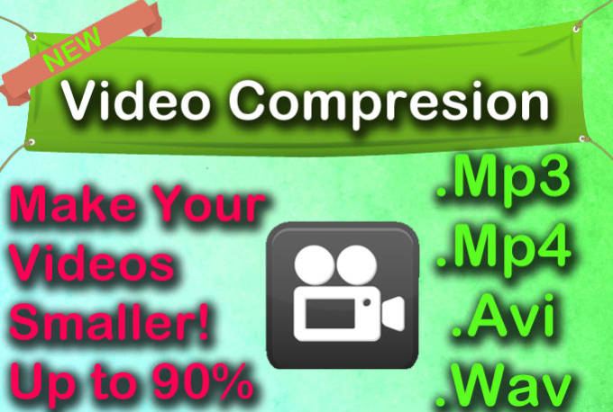 compress video to a reduced size with no quality loss