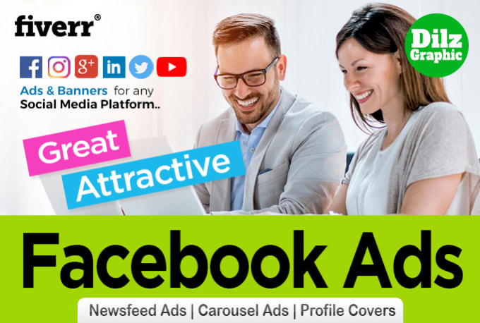 Facebook Is Great For Sharing Pictures >> Design Awesome Facebook Ads Instagram Ads Banner Ads By Dilzgraphic