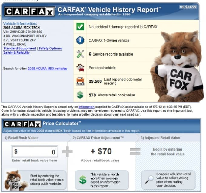Spycheck I Will Full Carfax And Free Autocheck Very Fast Service For 5 On Www Fiverr Com