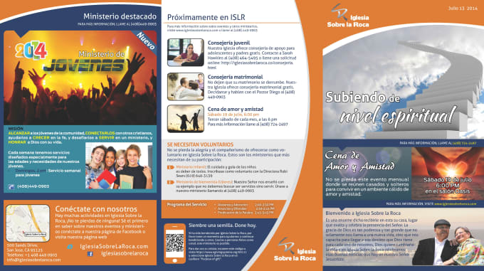 design and update your church bulletin by marealma