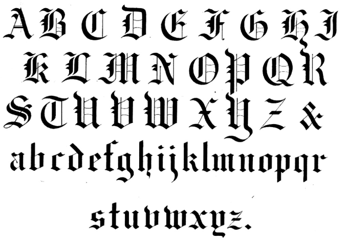 how to write old english Where to start   where the writer was writing very quickly and possibly not forming the joining strokes,  use of the old english 'th' letter, called a thorn.