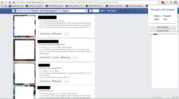 give you a facebook UID extractor chrome extension