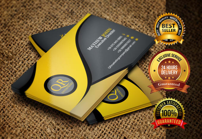 Business card design freelance services online fiverr design business card with two concepts reheart Image collections