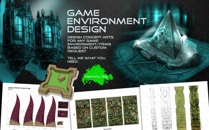 concept art and game design