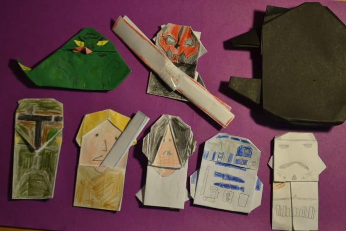May the Fourth Be With You!!! Celebrate Star Wars day with Origami ... | 453x680