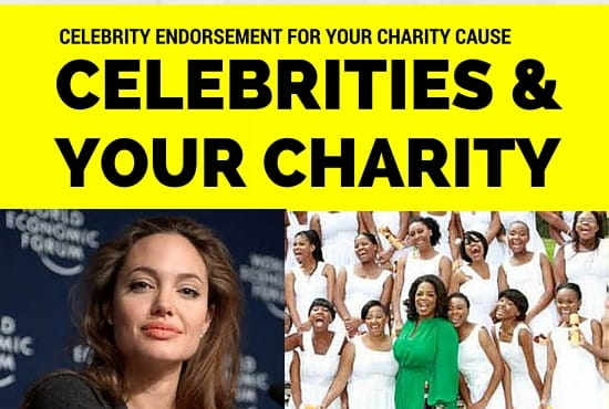 celebrity non profit endorsements