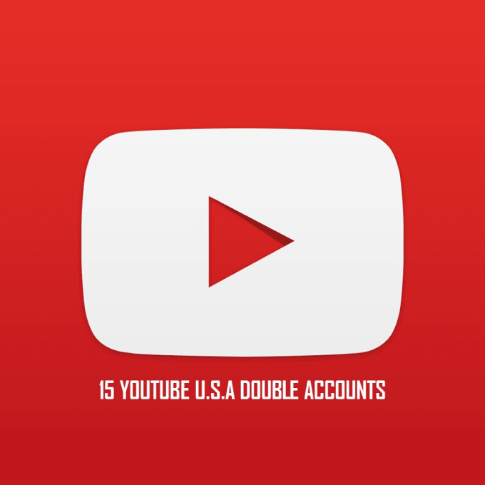 cliffordjohn : I will give you 15 Double Verified YouTube Accounts USA for  $5 on www fiverr com