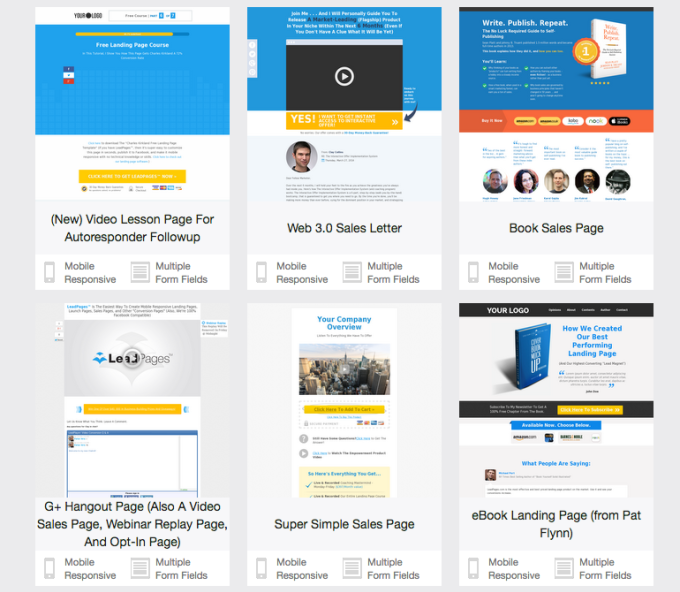 Leadpages Free Templates Fundamentals Explained