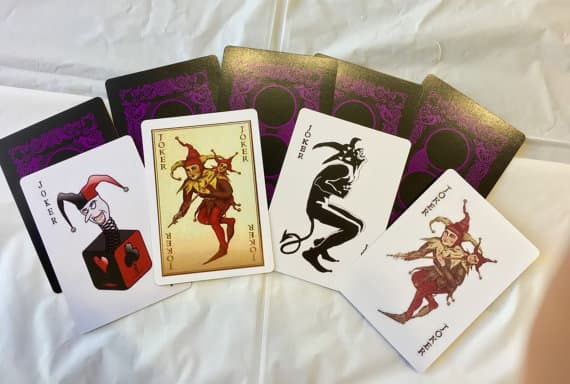 Send You A 4 Pack Of Dark Knight Joker Cards By Mutibabe