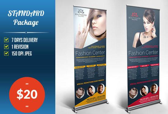 pop up banner designs