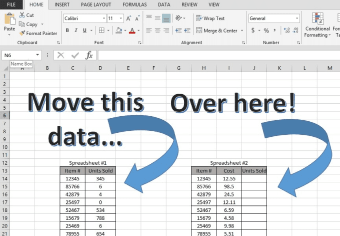 Merge Your Excel Spreadsheets Into One