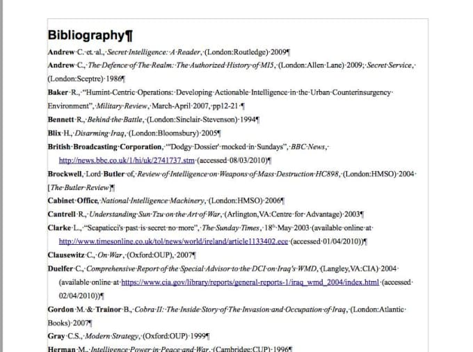 example of a full bibliographic citation