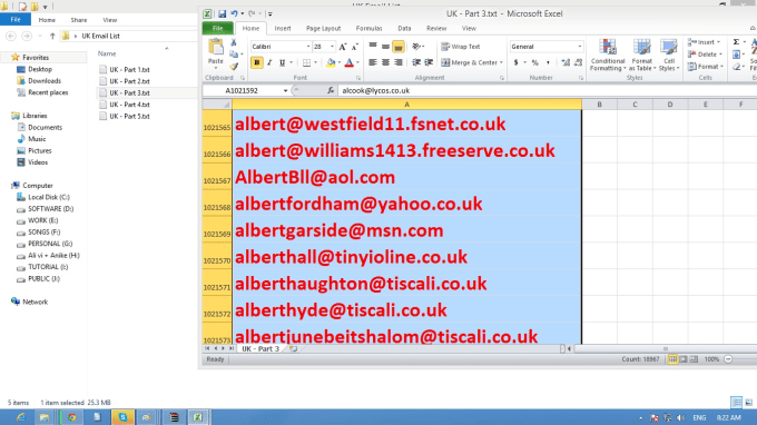 give you 40 0000 uk email database email list