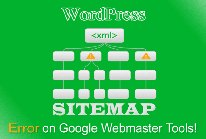 remove wordpress xml sitemap errors from webmaster tools by ferdousoly