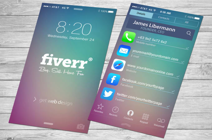 Design a beautiful ios10 iphone business card by jamesliberman design a beautiful ios10 iphone business card reheart Gallery