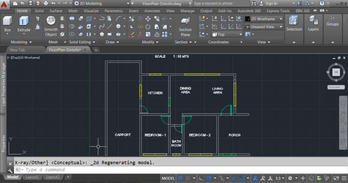 rrdotollo : I will create or design 2D and 3D using Autocad and SketchUp  for $10 on www fiverr com