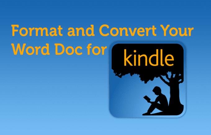 convert pdf to kindle ebook format