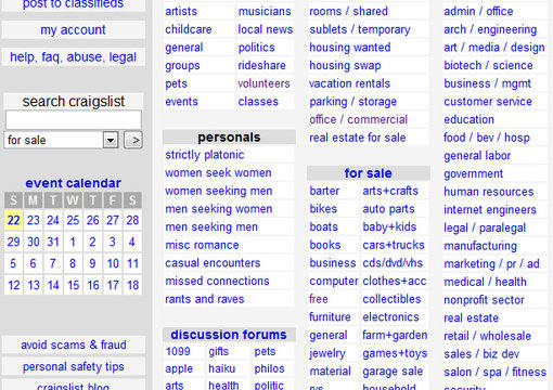 Craigslist Com Houston >> Post A Craigslist Ad In Houston Texas