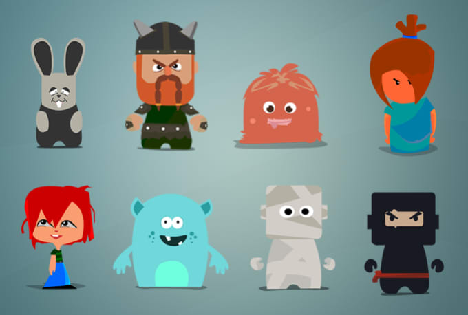 Game Character Design Apps : Draw awesome custom characters for your game app by k3dwin