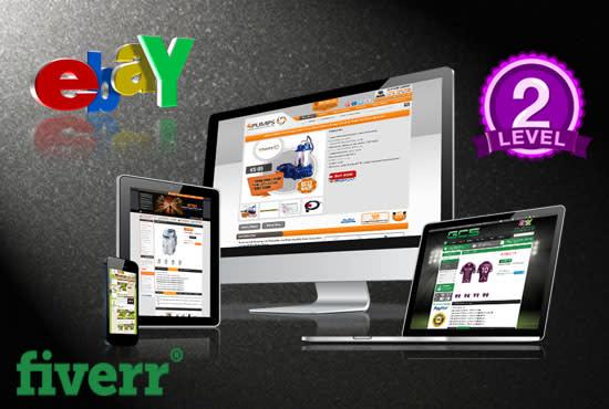 EBay Responsive Listing Template Fiverr - Professional ebay listing templates