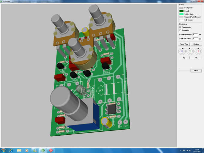 Draw your schematic, pcb layout using diptrace by Rnwrrr
